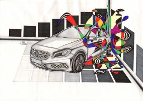 Mercedes A-Class by bamboomc