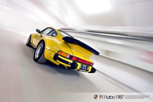 porsche 911 turbo 1987 by rd4play