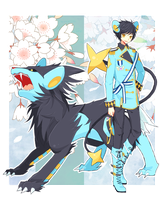 Aulin the luxray by baaoju