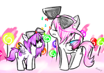 The candy that makes the melody by UnicornsInWater