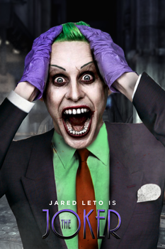 Jared Leto as THE JOKER - Classic Manipulation by MrSteiners