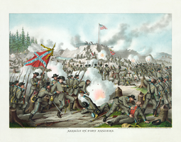 Battle of Fort Sanders restoration by AdamCuerden