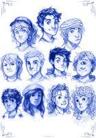 PJO Kids by lorellashray