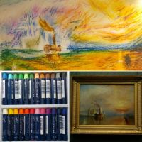 Study of The Fighting Temeraire - Turner by Charlene-Art