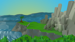 Seaside Low Poly by Piplington