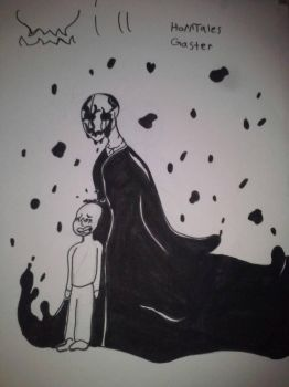Spooker Gaster - A version of gaster who resides i by chixhip12