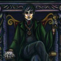 Barnabas Collins Portrait 2 (Close-Up) by Ai-Don