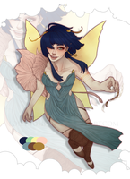 [CLOSED] Fairy Lady Adopt by HippoRaptor