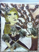 The Victorian Owl by MissElizabethViro