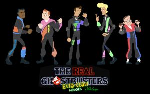 The Real Ghostbusters: Ecto Glow Heroes by mikeysammiches