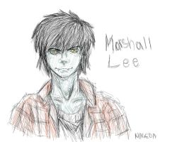 one sketchymetchy Marshall Lee by Magiichan
