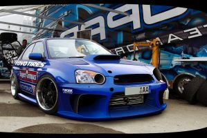 Subaru Impreza Racing by jhoncolle