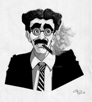Groucho Marx by zodd88
