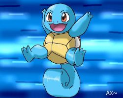 Squirtle Sugimori attempt 2 by AdvanceX