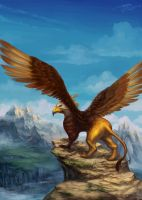 Gryphon by phomax