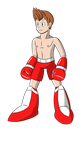 Boxer Man by ArtBlacksmith