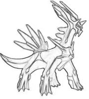 Dialga Drawing by charmanderfan7