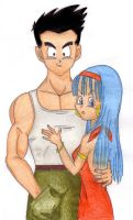 Bra and Goten tribute by Veronik1982