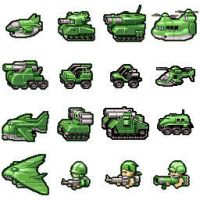 OLD OLD  old Battalion wars icons by manmonkee