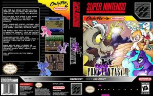 My little pony final fantasy VI snes cover by Neokitty12
