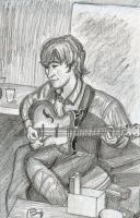 John Lennon - pencil by Bane-Shadows