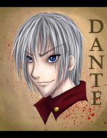 Dante Finished by Koriiko-chan