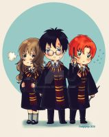 Chibi harry potter by dokinana