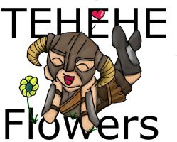 tehe flowers by WoWLinry