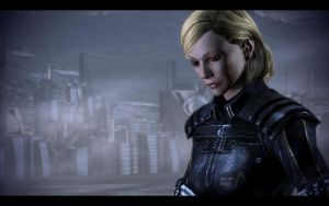 ME3 Femshep Soldier Shadow by chicksaw2002