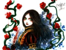 Alice: Madness Returns work by michivvya