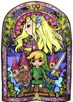 The legend of Zelda by Byauntukan