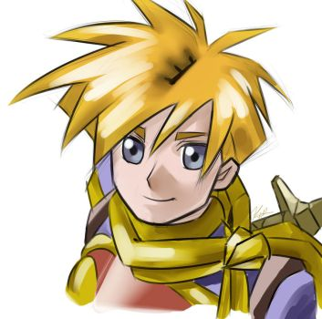 Golden Sun: Isaac by Kenny-Artist