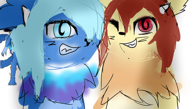 look its are oc's by Timska
