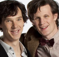 Doctor And Sherlock Icon by drawingdream