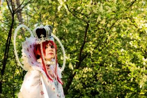 Queen Esther Blanchett: Trinity Blood by Kaze111
