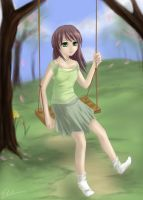 Swinging.. by surrealecho