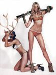 Lock Stock n 2 horny Antlers by LouisDelacroix