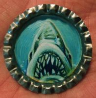 JAWS Bottle Cap Monster by Mr-Mordacious