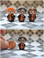 Harry Potter Golden Trio Chibi by eserenitia