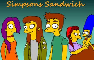 Simpsons sandwich by TomSimpson96