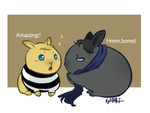 Bunny sherlock and John by aulauly7