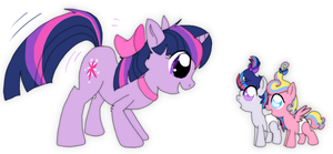 Ask Cute Twinkie Pie: Twilight's Nieces by JustAGirlOnline