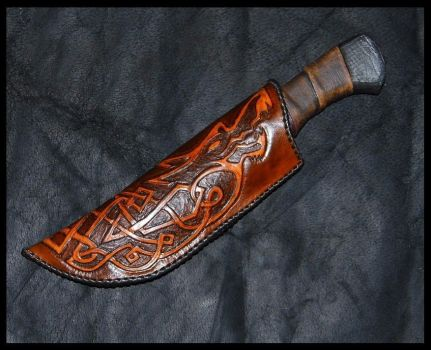Wolf Sheath by SteamViking