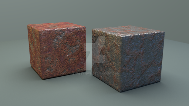 RustyTextures Test by ThreeViews