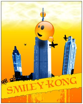 Smiley-Kong by schemata-69