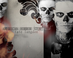 Tate Langdon Wall 2 by kayelle89