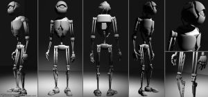 Martin:: WIP Robot Concept by dotcommer