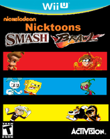 Nicktoons Smash Brawl Cover Art by cartoonfanboyone