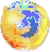 Firefox Lego Mosaic by gpsc