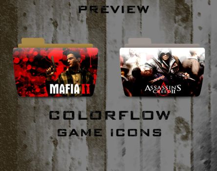 Colorflow Game Icons Preview by CheaseK